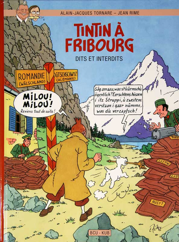 Tintin � Fribourg