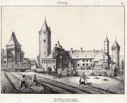 WAGNER, J.F. - - Estavayer.