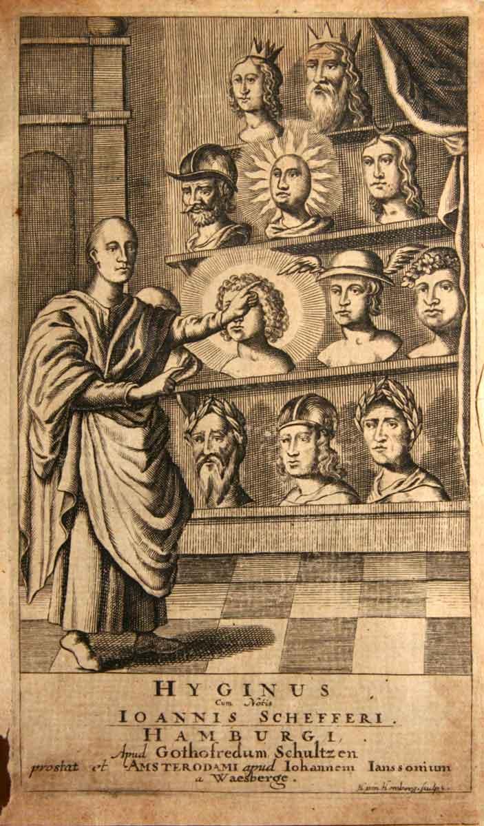 HYGINUS AUGUSTUS, CAJUS JULIUS (CA. 64-17 A.D.): - Hygini Quae hodie extant, adcurante Joanne Scheffero Argentoratensi, qui simul adjecit Notas, ... Accedunt Thomae Munckeri in Fabulas Hygini Annotationes.