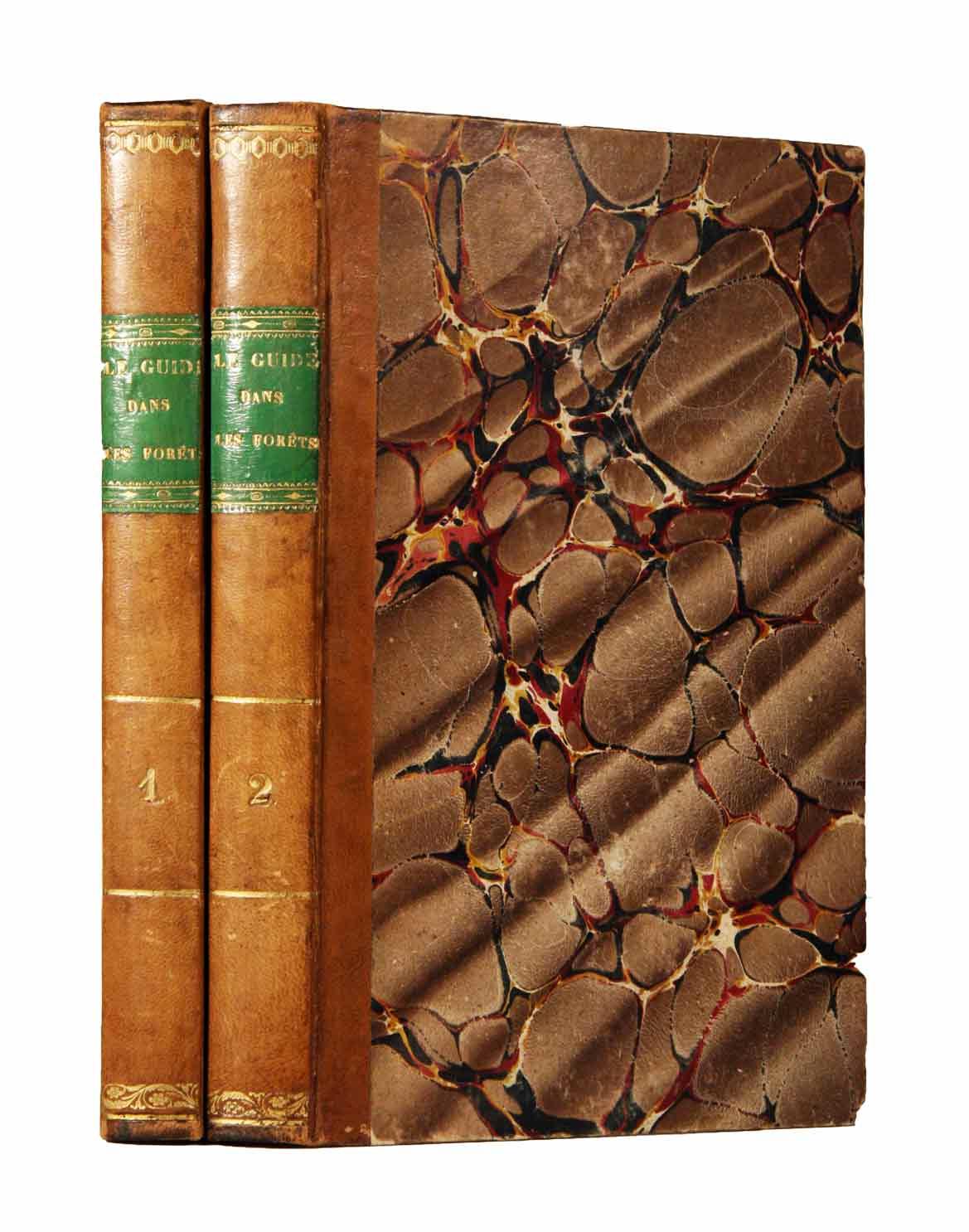 KASTHOFER (CHARLES): - Le guide dans les forêts, ouvrage particulièrement destiné à l'instruction des campagnards, des propriétaires de bois et des préposés des communes rurales. En 2 volumes.