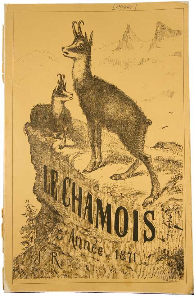 REICHLEN, J(OSEPH): - Le Chamois. 3e année (12 numéros).