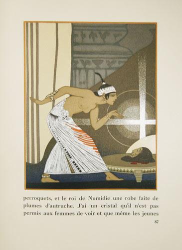 WILDE, OSCAR: - Salomé. Avec des compositions de Manuel Orazi gravées sur bois par Pierre Bouchet.
